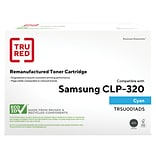 TRU RED™ Samsung CLT-C407S (SU001A) Cyan Remanufactured Standard Yield Toner Cartridge