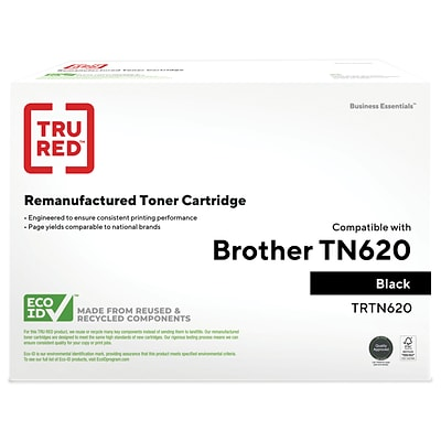 TRU RED™ Remanufactured Black Standard Yield Toner Cartridge Replacement for Brother (TN-620)