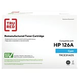 TRU RED™ Remanufactured Cyan Standard Yield Toner Cartridge Replacement for HP 126A (CE311A)