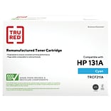 TRU RED™ Remanufactured Cyan Standard Yield Toner Cartridge Replacement for Canon 131 (6271B001)