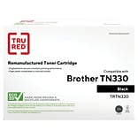 TRU RED™ Brother (TN-330) Black Remanufactured Standard Yield Toner Cartridge