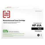 TRU RED™ Remanufactured Black Standard Yield Toner Cartridge Replacement for HP 61A (C8061A)