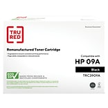 TRU RED™ Remanufactured Black Standard Yield Toner Cartridge Replacement for HP 09A (C3909A)