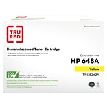 TRU RED™ HP 648A (CE262A) Yellow Remanufactured Standard Yield Toner Cartridge
