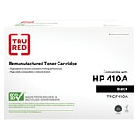 TRU RED™ Remanufactured Black Standard Yield Toner Cartridge Replacement for HP 410A (CF410A)