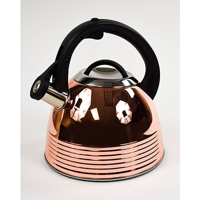 Mr. Coffee 2.4 QT Copper Plated Stainless Steel Tea Kettle