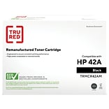 TRU RED™ HP 42A (Q5942A) MICR Black Remanufactured Standard Yield Toner Cartridge
