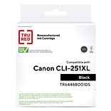 TRU RED™ Remanufactured Black High-Yield Ink Cartridge Replacement for Canon CLI-251XL (6448B001)