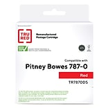 TRU RED™ Pitney Bowes (787-0) Red Remanufactured Standard Yield Ink Cartridge