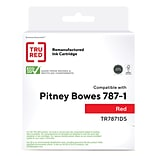 TRU RED™ Pitney Bowes (787-1) Red Remanufactured Standard Yield Postage Cartridge