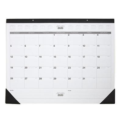 Staples Desk Calendar 2020 2020 Staples® 21 3/4