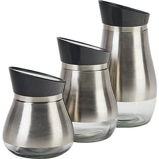 3-pc Steel Canisters with $200 order