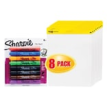 Post-it® Easel Pads, 25 x 30 & Sharpie Flip Chart Markers - Special Offer!