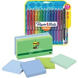 Save 20%: Post-it® Super Sticky Notes, Bora Bora & Paper Mate® InkJoy® Gel Pens