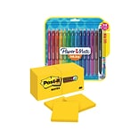 Save 20%: Post-it® Super Sticky Notes, Bright Yellow & Paper Mate® InkJoy® Gel Pens