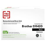 TRU RED™ Remanufactured Black Standard Yield Drum Unit Replacement for Brother DR420 (DR-420)