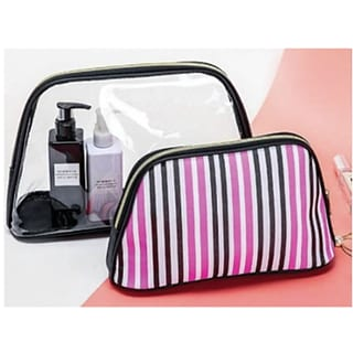 2-pc Cosmetic Bag Set with $125 order