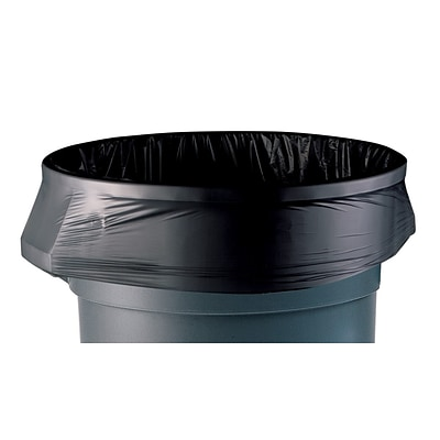 Coastwide Professional™ AccuFit 32 Gal. Trash Bags, Low Density, 0.9 Mil, Black, 20 Bags/Roll, 5 Rolls (CW22751)