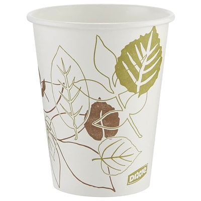 Dixie® Pathways Paper Hot Cups , 16 oz., 300/Carton (2346SS1)