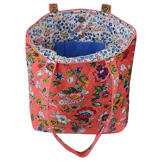 Tote - Coral Floral with $500 order