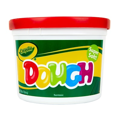 Crayola Modeling Dough, Red, 3 lb. Resealable Bucket (57-0015-038)