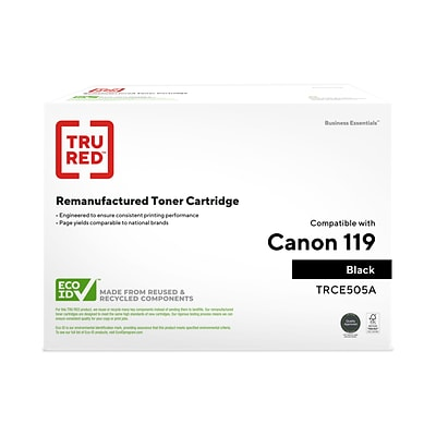 TRU RED™ Remanufactured Black Standard Yield Toner Cartridge Replacement for Canon 119 (3479B001)