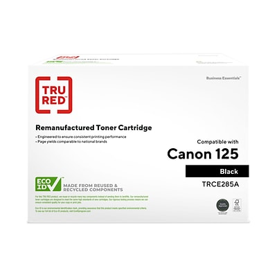 TRU RED™ Remanufactured Black Standard Yield Toner Cartridge Replacement for Canon 125 (3484B001)