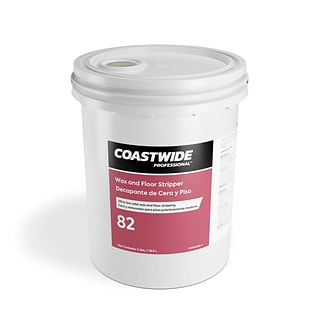 Coastwide Professional™ 82 Wax and Floor Stripper, 5 gal./18.9 L (CW820005-A)