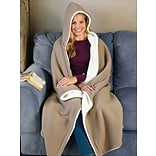 Hooded Sherpa Blanket with $175 order