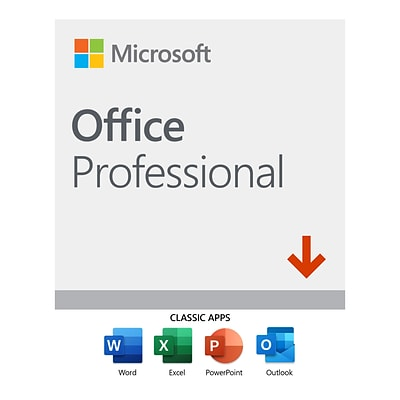 Microsoft Office Professional 2019 Windows 10, 1 USer, Download (Z6T5L9R3ZYQFJCD)