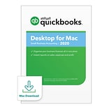 Intuit QuickBooks Desktop for Mac 2020 for 1 User, Mac OS X, Download (0607207)