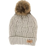 Hat & Gloves (Cream) with $99 order