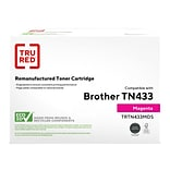 TRU RED™ Remanufactured Magenta High Yield Toner Cartridge Replacement for Brother TN433M (TN433M)