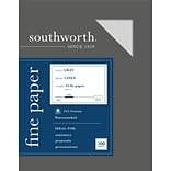 Southworth 8.5 x 11 Business Paper, 24 Lbs., Linen, 500/Box (574C)