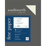 Southworth 8.5 x 11 Business Paper, 24 lbs., 100 Brightness, 500/Box (404NC)