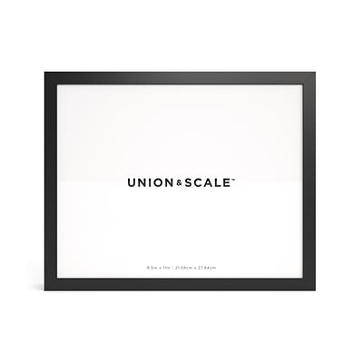 Essentials Wood Document Frame, Black (UN58039)