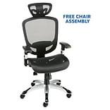 FREE Assembly on Quill Brand Hyken Mesh Task Chair, Black