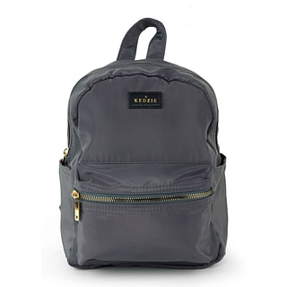 Mini Grey Backpack with $175 order