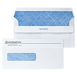 Custom 4-1/2 x 9 Insurance Claim Self Seal Window Envelopes with Security Tint, 24# White Wove, 1