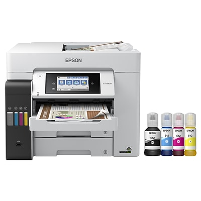Epson EcoTank® Pro ET-5800 Wireless All-in-One Cartridge-Free SuperTank Office Printer, prints up to 8.5 x 14