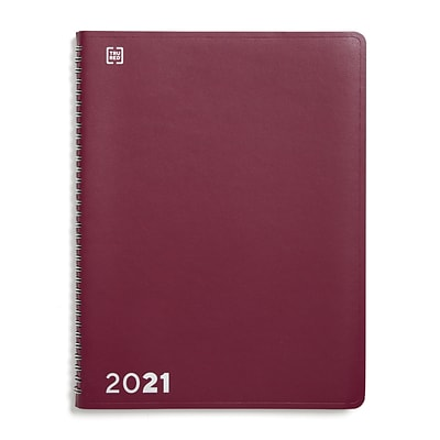 2021 TRU RED 8 x 11 Appointment Book, Purple (TR58471-21)
