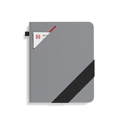 TRU RED™ Large Starter Journal, Gray (TR58413)