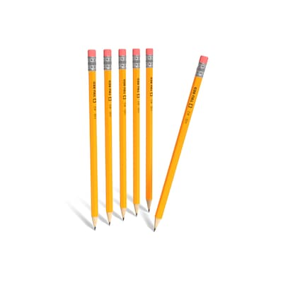 PACK OF 20 HB RUBBER ERASER TIPPED PENCILS NEW NOT SHARPENED