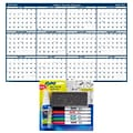 2020-2021 House of Doolittle 18 x 24  Academic Wall Calendar with Expo Dry Erase Markers Set