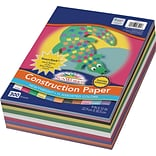 SunWorks 9 x 12 Construction Paper, Assorted Colors, 300 Sheets (P6525)