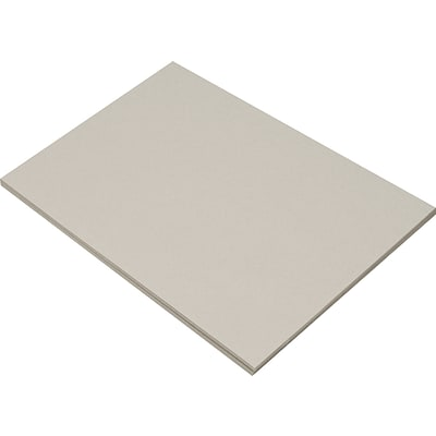Riverside 3D 12 x 18 Construction Paper, Gray, 50 Sheets (P103632)
