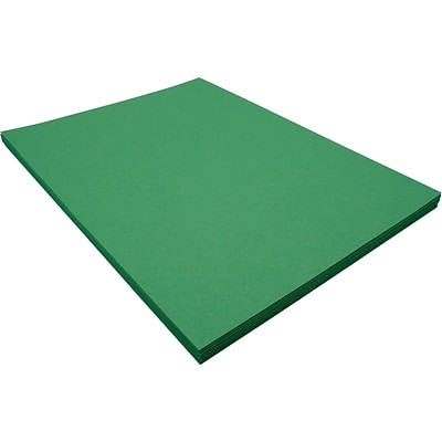 Riverside 3D 9 x 12 Construction Paper, Holiday Green, 50 Sheets (P103577)