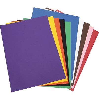 Tru-Ray 18 x 24 Construction Paper, Classic Colors, 50 Sheets (P103095)