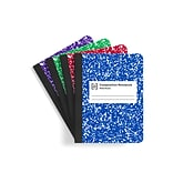 TRU RED™ Composition Notebook, 7.5 x 9.75, Wide Ruled, 100 Sheets, Assorted Colors (TR55077)