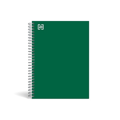 TRU RED™ Premium 3-Subject Notebook, 5.88 x 9.5, College Ruled, 138 Sheets, Green (TR58354)